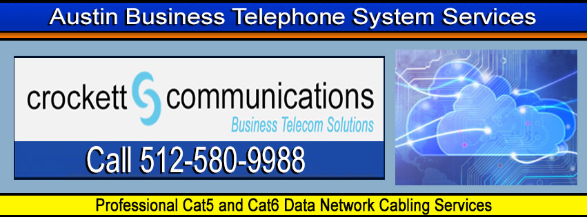 Professional Cat5 and Cat6 data network cabling services - Call 512-580-9988