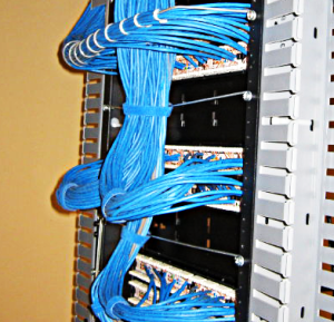 Cat5 and Cat6 voice and data network cabling and cable installation and repair services